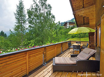 apartment chalet wagrain
